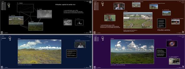"Audiovisual interativo ""Sertão vivo"""